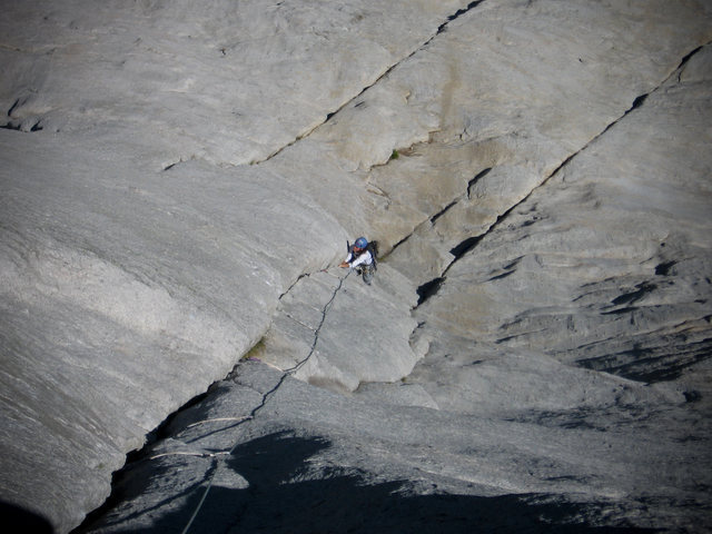 Regular Route (5.9), Fairview Dome, Tuolumne Meadows, CA