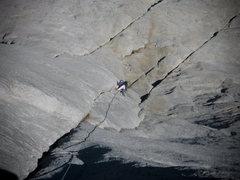 Rock Climbing Photo: Regular Route (5.9), Fairview Dome, Tuolumne Meado...