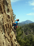 Rock Climbing Photo: Chris Owen on Ball and Chain.