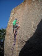 Rock Climbing Photo: TR'ing Purina.