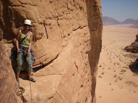 Rock Climbing Photo: Wadi Rum, Jordan