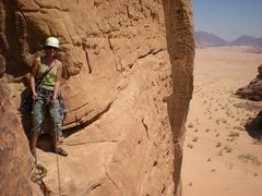 Rock Climbing Photo: Wadi Rum, Jordan