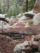 Rock Climbing Photo: Upper section of trail, we should call it Mass Cai...