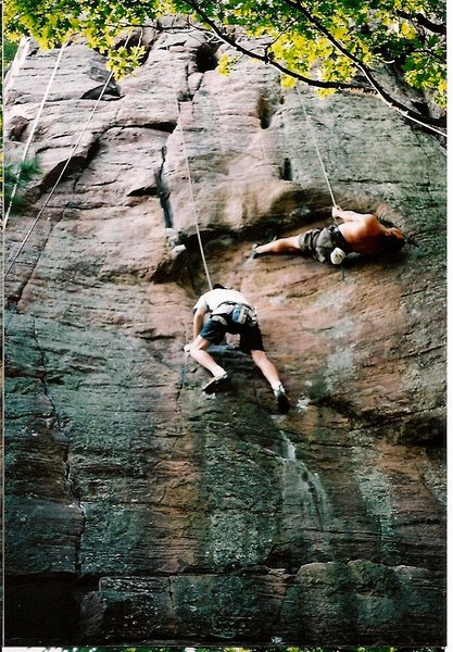 Rock Climbing Photo: For extra fun, have someone do this when your on M...