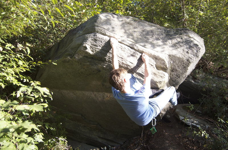 Rock Climbing Photo: The Frog Boulder
