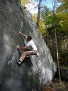 Rock Climbing Photo: zig zag crack. rumney