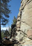 Rock Climbing Photo: Wonderful setting.