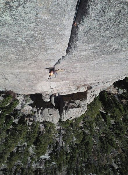 Rock Climbing Photo: Lumpy Ridge