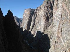 Rock Climbing Photo: Painted Wall!