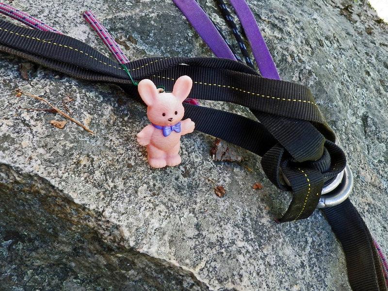Rock Climbing Photo: KARMIC RELIEF: Optimistic Rappit