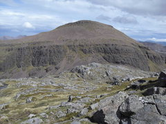 Rock Climbing Photo: One of the remote Munros.. Rhuad Stac Mor .. No pa...