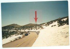 Rock Climbing Photo: Trail Ridge road gap from yesteryear . . .