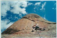 Rock Climbing Photo: Passion Play, Penitente Canyon.