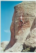 Rock Climbing Photo: Queso Cabesa, Penitente Canyon.