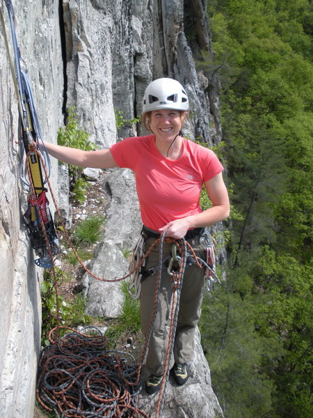 Rock Climbing Photo: Alcoa Ledge