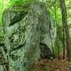 mystical boulder, in the middle of far side creek , on of the furthest boulders in the area, also the most beautiful.