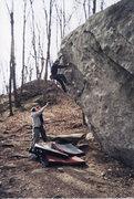 Rock Climbing Photo: Classic Wall V3