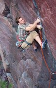 Rock Climbing Photo: Matt Kuehl on Upper Diagonal. Photo by Sarah Breng...