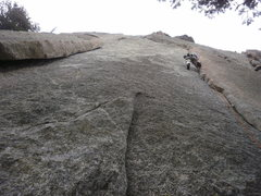 Rock Climbing Photo: 1st pitch of Loose Ends Pear Buttress on the left....