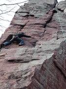 Rock Climbing Photo: Brintons Crack TR Traverse.