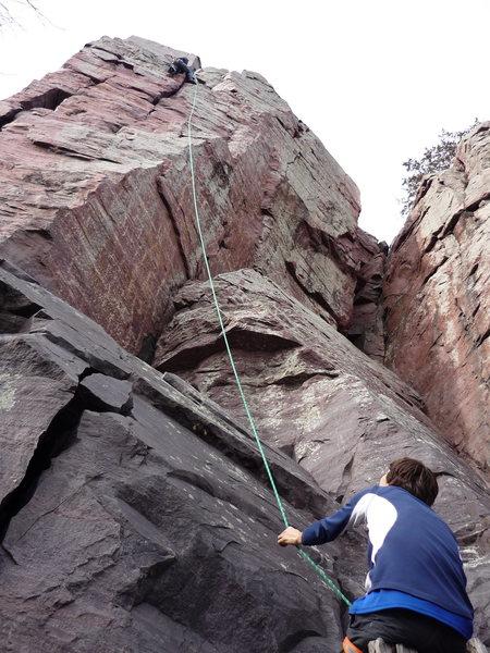 Rock Climbing Photo: Brintons Crack TR.