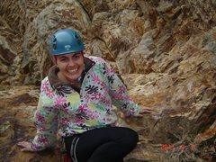 Rock Climbing Photo: bumble bee wall at storm mt.