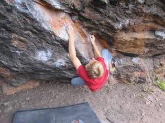 Rock Climbing Photo: Hobo Center Left Direct v6/7