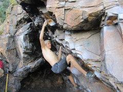 Rock Climbing Photo: Hobo Center Left V6
