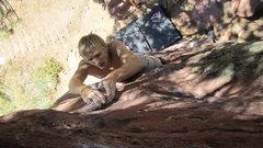 Rock Climbing Photo: South Crack V2X