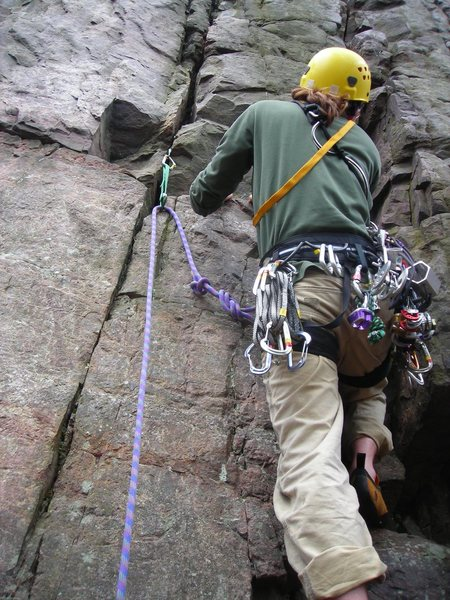 "Rock Climbing Photo: Route #25 Page 234 at ""The Pantry"".  Dr...."