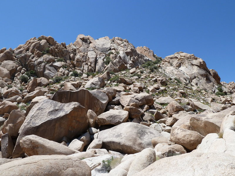 Split Boulder, Euhedral Slab and RC Rock, Joshua Tree NP