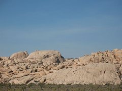 Rock Climbing Photo: Idyllwild Dome with the Astro Domes and Bed Rock i...