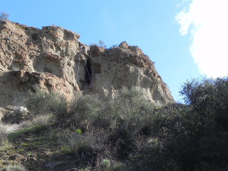 Rock Climbing Photo:  7bolts on top to set up choss roots 1 to 3.