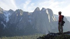 Rock Climbing Photo: Overlooking Yosemite Valley