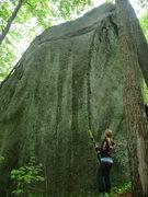 Rock Climbing Photo: arete on northwest corner