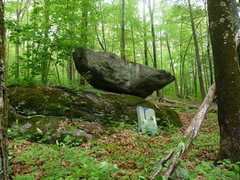Rock Climbing Photo: the anvil boulder