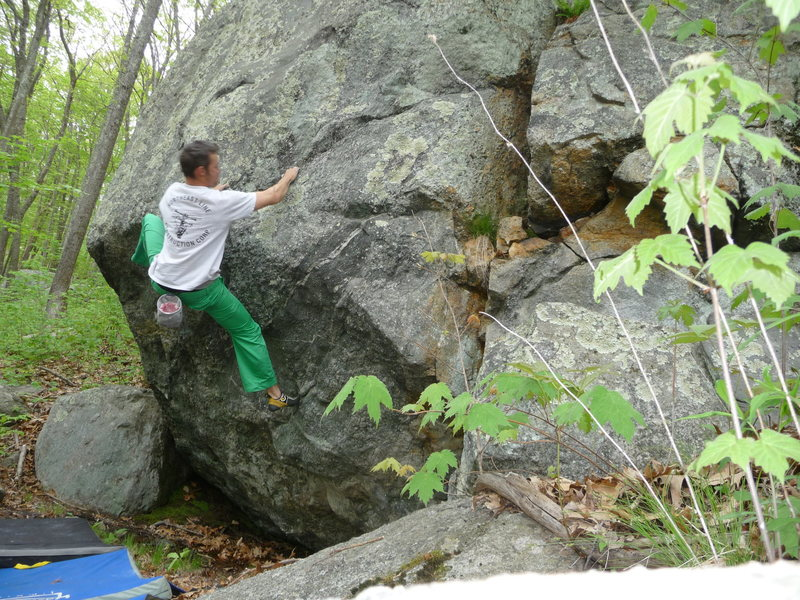 working the moves on Rain Days V1