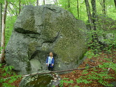 Rock Climbing Photo: lower twin boulder