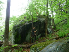 Rock Climbing Photo: a boulder on the way to the trapps