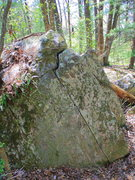 Rock Climbing Photo: Jebediah is the finger crack and the arete to the ...
