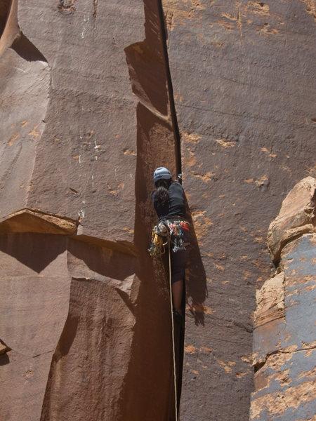 "Rock Climbing Photo: FA of ""Spittness"""