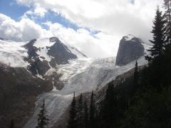 Rock Climbing Photo: Lower end of Bugaboo Glacier.