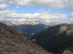 Rock Climbing Photo: Another look at the Rockies, from the trek up to t...