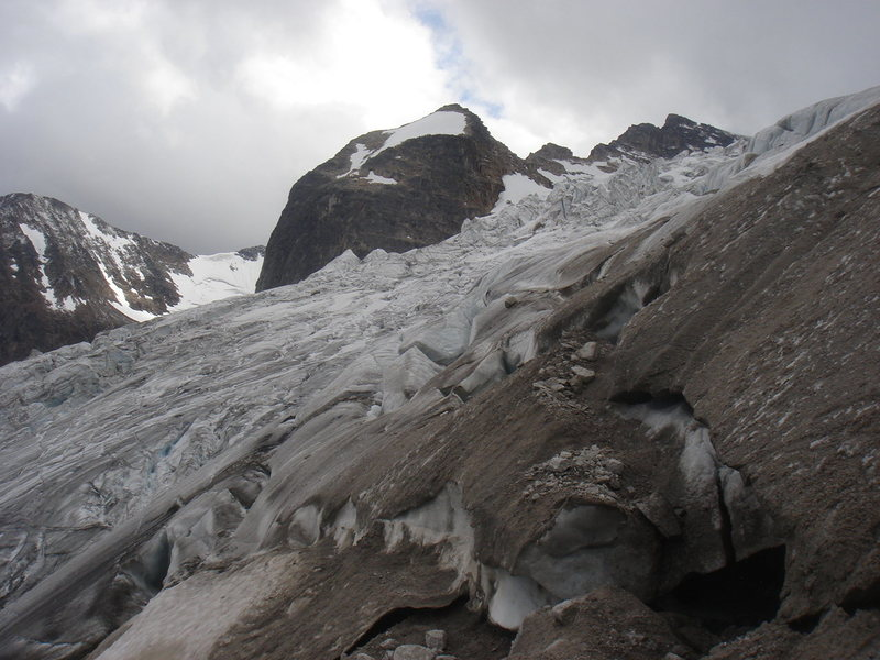 Up close and personal with Bugaboo Glacier.