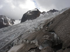 Rock Climbing Photo: Up close and personal with Bugaboo Glacier.