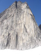 Rock Climbing Photo: North end of Snowpatch Spire.