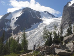 Rock Climbing Photo: Another look at Bugaboo Glacier.