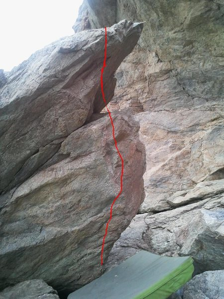 Rock Climbing Photo: Sense of artificiality