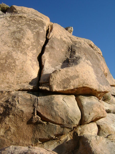 Rock Climbing Photo: The Awfulwidth, Erotic Dome, JTNP