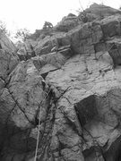 Rock Climbing Photo: eco euan being challenged